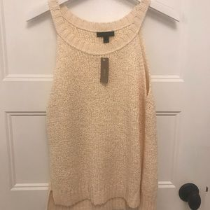 Jcrew sweater tank size L